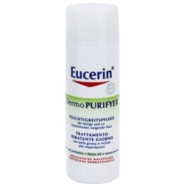 Eucerin Dermo Purifyer mattierende Creme für problematische Haut, Akne  50 ml