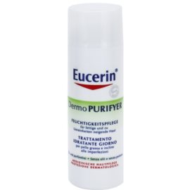 Eucerin Dermo Purifyer матиращ крем за проблемна кожа, акне  50 мл.
