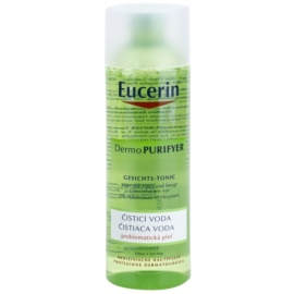 Eucerin Dermo Purifyer Reinigungswasser für problematische Haut, Akne  200 ml