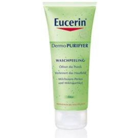 Eucerin Dermo Purifyer tisztító peeling problémás és pattanásos bőrre  100 ml
