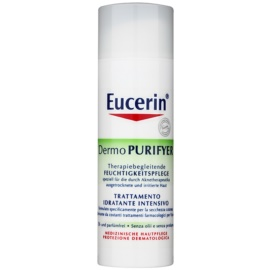 Eucerin Dermo Purifyer Feuchtigkeitsspendende Tagescreme für problematische Haut, Akne SPF 30 + UVA  50 ml