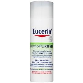 Eucerin Dermo Purifyer nawilżający krem na dzień do skóry z problemami SPF 30 + UVA  50 ml