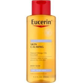 Eucerin Skin Calming óleo de duche para pele seca e com purido  250 ml