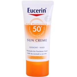 Eucerin Sun ochranný krém na obličej SPF 50+  50 ml