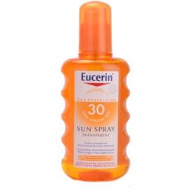Eucerin Sun Transparante Bruiningsspray  SPF 30  200 ml