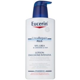 Eucerin UreaRepair PLUS leite corporal para pele muito seca  10% Urea 400 ml