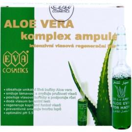 Eva Aloe Vera intenzivní vlasová regenerační kúra  5 x 10 ml