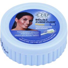 Eva Fluor bělicí zubní pudr 3 v 1 fluor  30 g