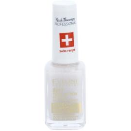 Eveline Cosmetics Nail Therapy Professional acondicionador de uñas con purpurina dorada 8 en 1  12 ml