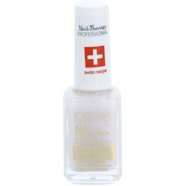 Eveline Cosmetics Nail Therapy Professional köröm kondicionáló arany csillogással 8 in 1  12 ml