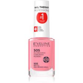 Eveline Cosmetics Nail Therapy acondicionador multivitamínico con calcio  12 ml