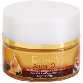 Eveline Cosmetics Argan Oil nočna regeneracijska krema proti gubam  50 ml