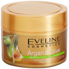 Eveline Cosmetics Argan & Olive hidratáló nappali krém a ráncok ellen  50 ml