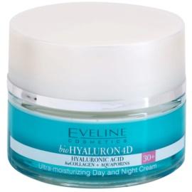 Eveline Cosmetics BioHyaluron 4D dnevna in nočna krema 30+ SPF 8  50 ml