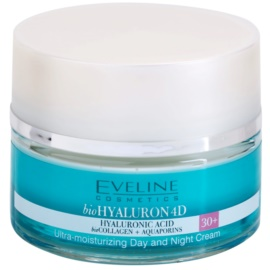 Eveline Cosmetics BioHyaluron 4D crema de día y noche 30+ SPF 8  50 ml