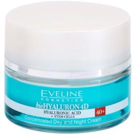 Eveline Cosmetics BioHyaluron 4D dnevna in nočna krema 40+ SPF 8 50 ml