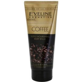 Eveline Cosmetics SPA Professional Coffee hlboko hydratačný telový balzam  200 ml