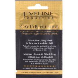 Eveline Cosmetics Caviar Prestige 45+ pleťová maska proti vráskám  7 ml