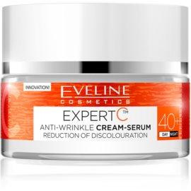 Eveline Cosmetics Expert C crème anti-rides jour et nuit 40+  50 ml