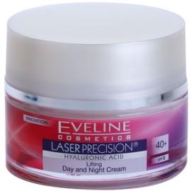 Eveline Cosmetics Laser Precision dnevna in nočna krema proti gubam 40+  50 ml