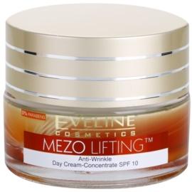 Eveline Cosmetics Mezo Lifting crema de zi - concentrata antirid SPF 10  50 ml