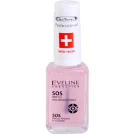 Eveline Cosmetics Nail Therapy мултивитаминен балсам с калций  12 мл.