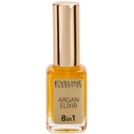 Eveline Cosmetics Nail Therapy regeneracijski eliksir za nohte in obnohtno kožo  12 ml