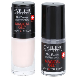 Eveline Cosmetics Nail Therapy Professional vernis à ongles gel sans lampe UV/LED teinte 08  2 x 5 ml