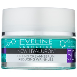 Eveline Cosmetics New Hyaluron Smoothing Cream SPF 8  50 ml