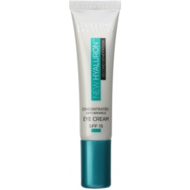 Eveline Cosmetics New Hyaluron glättende Augencreme LSF 15  15 ml