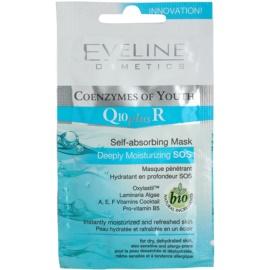 Eveline Cosmetics Q10 + R maseczka nawilżająca  7 ml