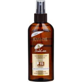Eveline Cosmetics Sun Care olej po opalování SPF 15  150 ml