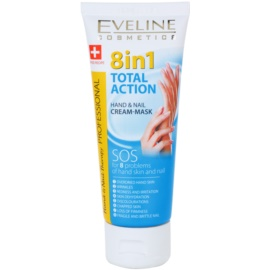 Eveline Cosmetics Total Action krém na ruky a nechty 8 v 1  75 ml