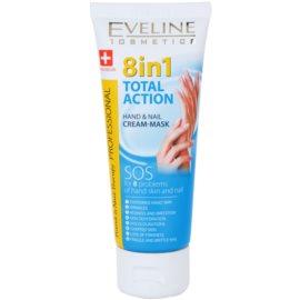 Eveline Cosmetics Total Action kéz- és körömápoló krém 8 in 1  75 ml