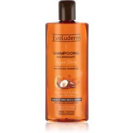 Evoluderm Argan Divin odżywczy szampon z olejkiem arganowym marokńskim do włosów suchych i zniszczonych  400 ml