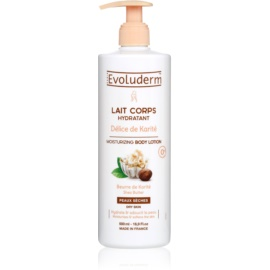 Evoluderm Delice de Karite Hydrating Body Lotion With Shea Butter  500 ml