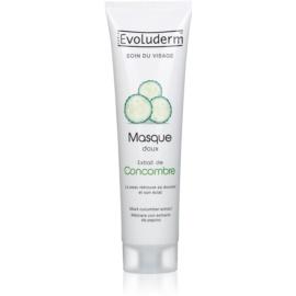 Evoluderm Face Care masque visage aux extraits de concombre  150 ml