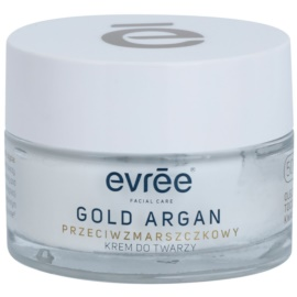 Evrée Gold Argan Anti - Wrinkle Cream 50+  50 ml