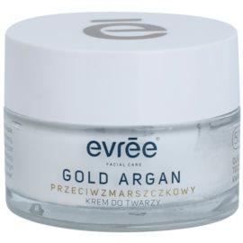 Evrée Gold Argan ránctalanító krém 50+  50 ml
