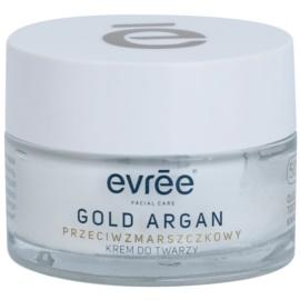 Evrée Gold Argan krem przeciw zmarszczkom 50+  50 ml