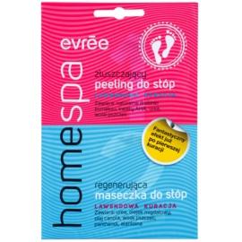 Evrée Home Spa peeling és maszk lábakra  2 x 7 ml