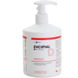 Excipial D Protect Protective Cream For Hands For Sensitive And Irritated Skin  500 ml