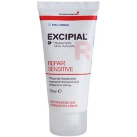 Excipial R Repair Sensitive kézkrém a bőrréteg megújítására  50 ml
