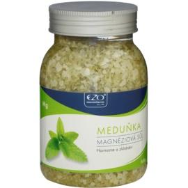 EZO Melissa magnézium-só fürdéshez teljes kikapcsolódással  650 g