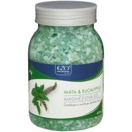 EZO Mint & Eucalyptus магнезиева сол за вана за освобождаване на дихателните пътища  650 гр.