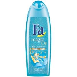 Fa Magic Oil Blue Lotus sprchový gel Micro Oils 250 ml
