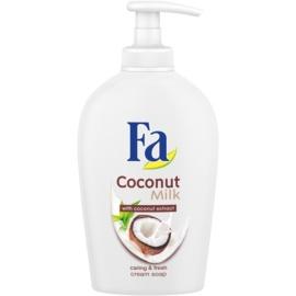 Fa Coconut Milk krémové mydlo s pumpičkou  250 ml