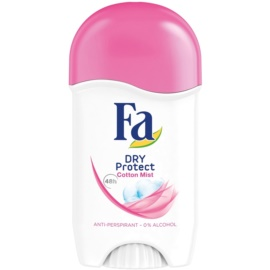 Fa Dry Protect Cotton Mist izzadásgátló stift (48h) 50 ml