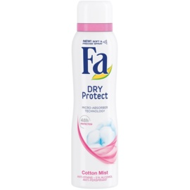 Fa Dry Protect Cotton Mist antiperspirant ve spreji (48h) 150 ml