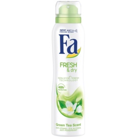 Fa Fresh & Dry Green Tea Antiperspirant In Spray (48h) 150 ml